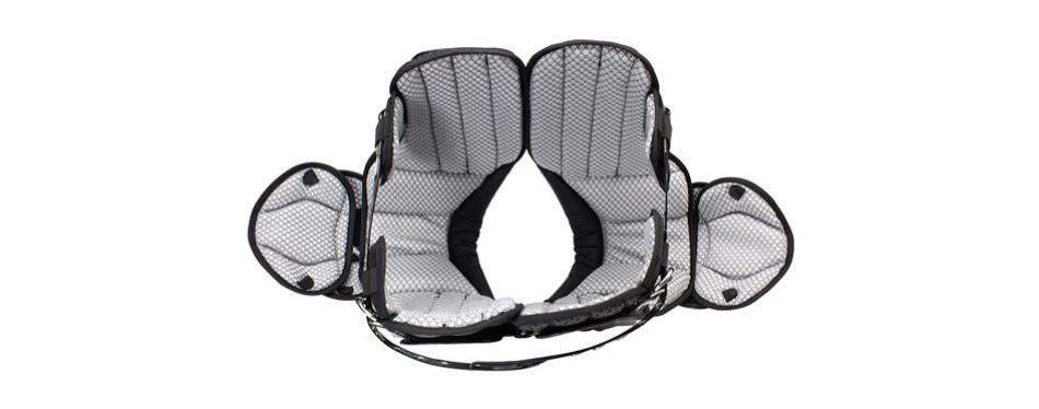 schutt sports varsity flex 4.0 all purpose football shoulder pads