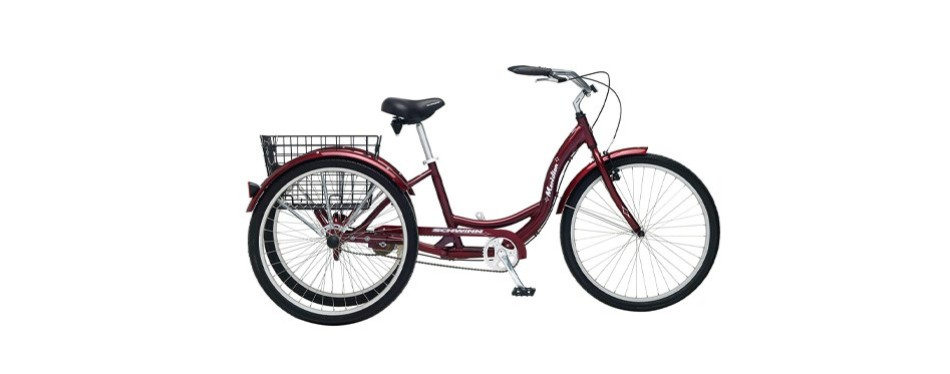 schwinn meridian full-size adult tricycle