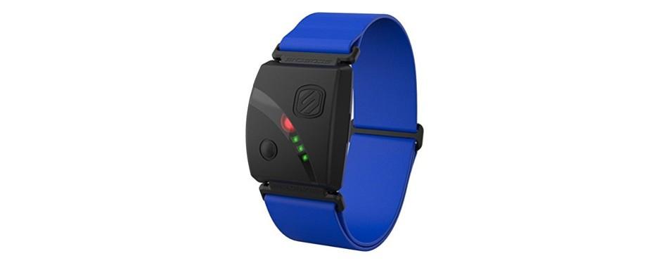 scosche rhythm24 - waterproof armband heart rate monitor