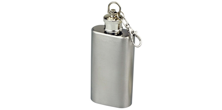 Stainless Steel Keychain Flask