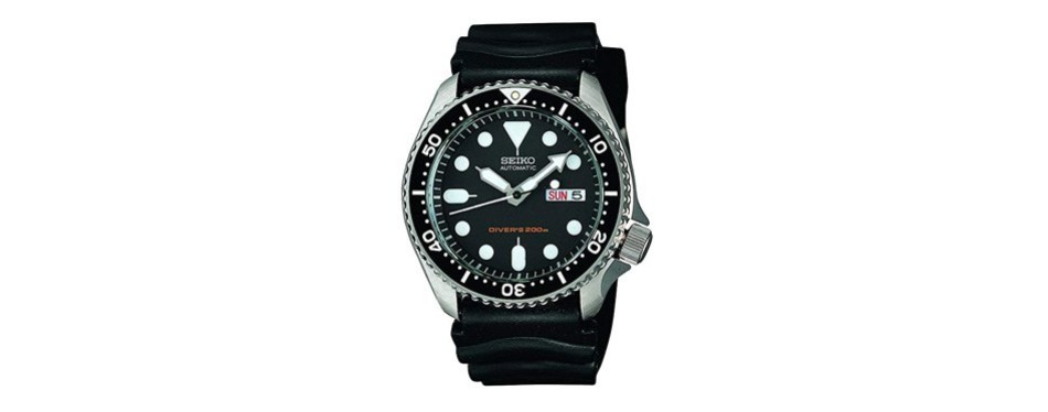 seiko diver's automatic watch