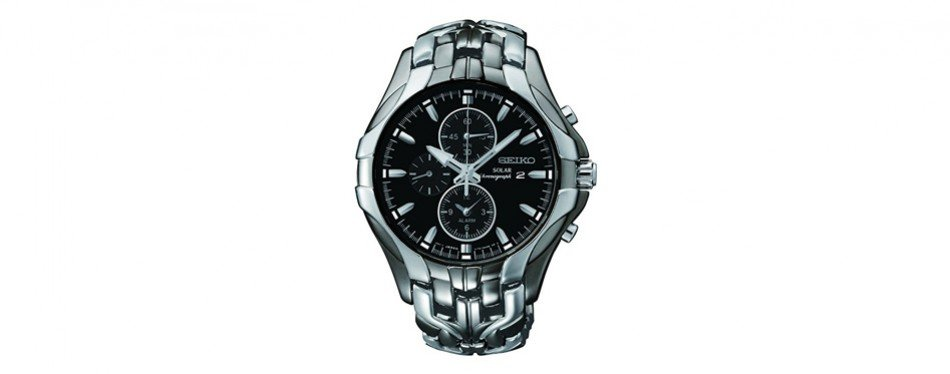 seiko excelsior solar powered ion watch