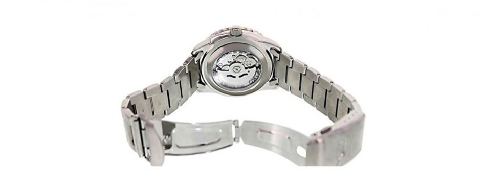 seiko steel casual watch