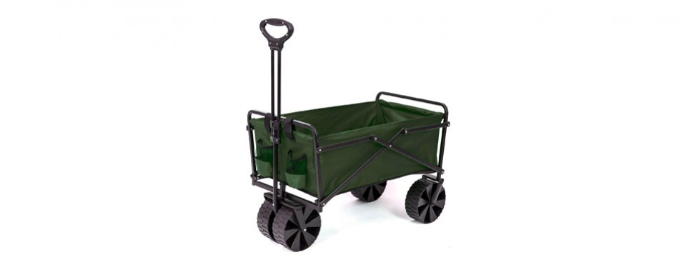 seina collapsible utility beach wagon and cart