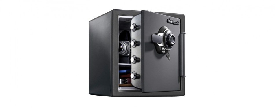 sentrysafe extra large dual key locking safe