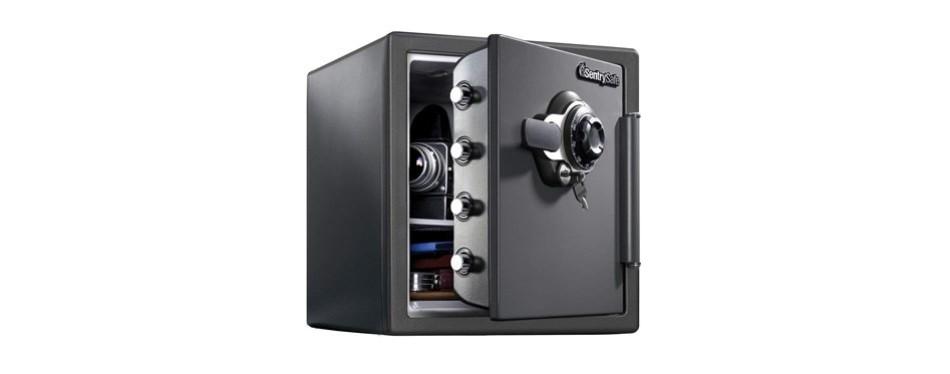 sentrysafe extra large dual key locking safe