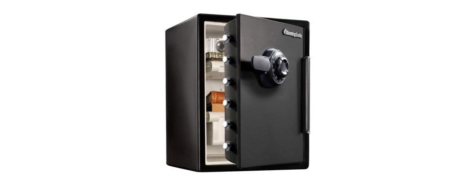 sentrysafe fire and water safe
