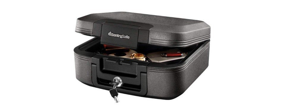 sentrysafe fire safe chest