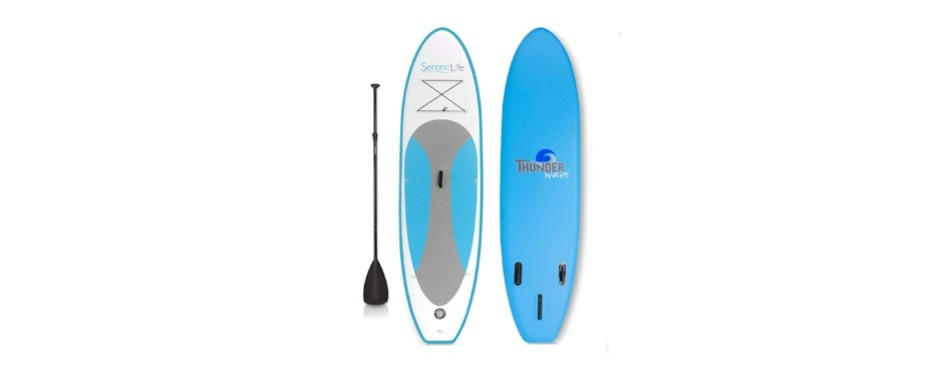 serenelife premium inflatable stand-up paddleboard