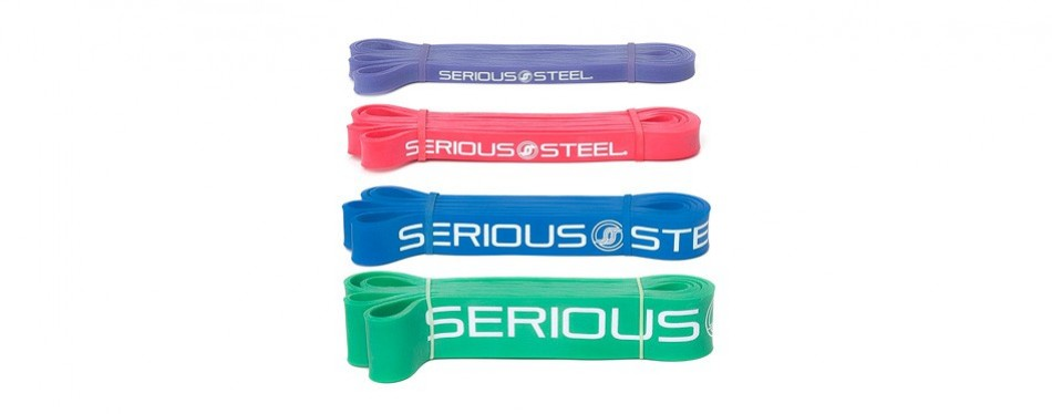 serious steel fitness, resistance and power lifting bands