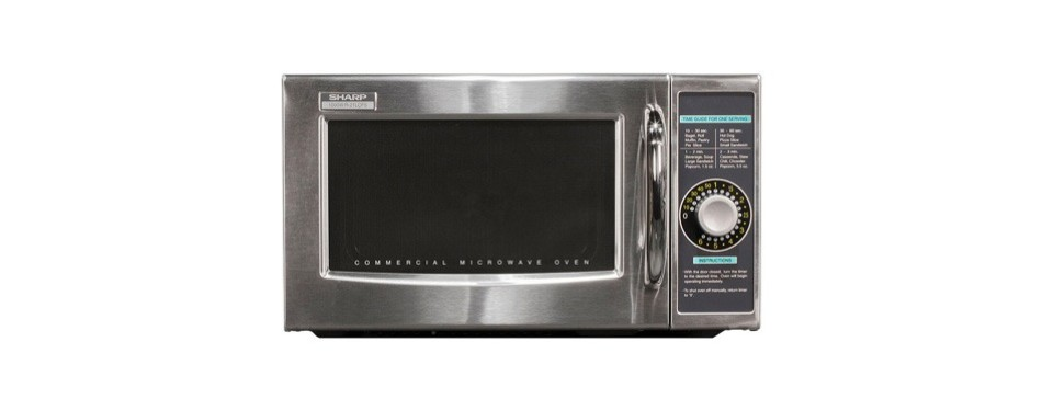 sharp r-21lcfs medium-duty commercial microwave oven