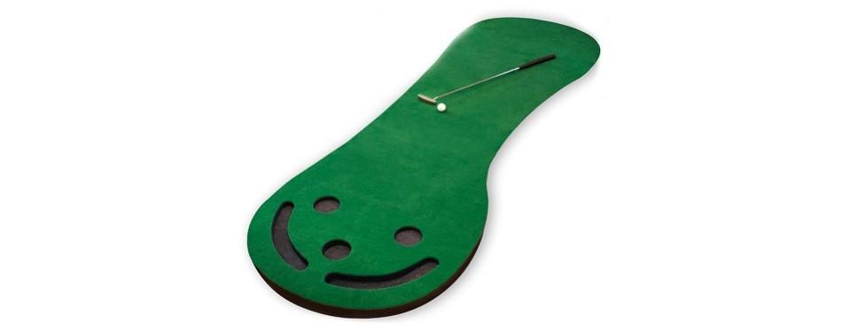 shaun webb's golf putting mat green