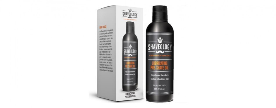shaveology lubricating pre-shave oil