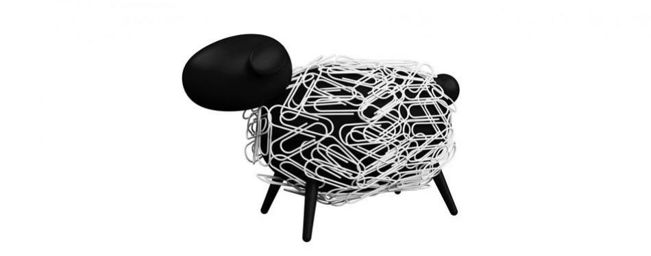 sheepi - magnetic paper clip holder