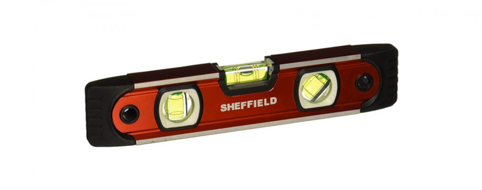 sheffield 58640 v-groove torpedo level