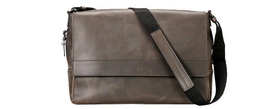 shinola detroit messenger bag