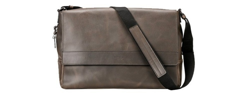 shinola detroit messenger bag