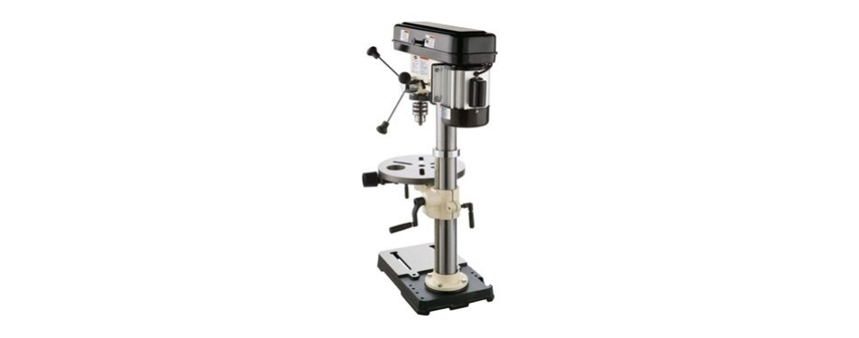 "shop fox 13"" 3/4 hp bench-top oscillating drill press"