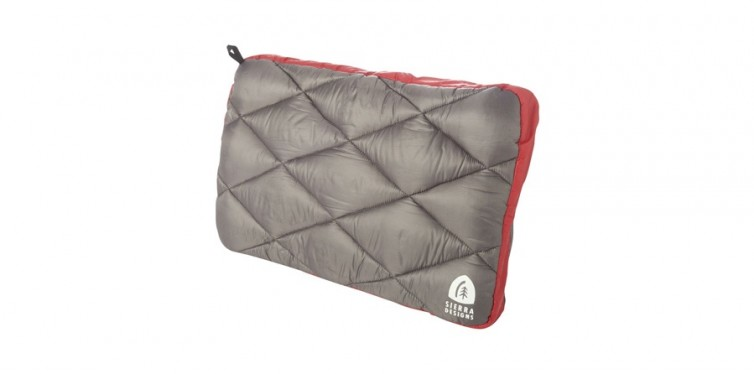 sierra designs dridown pillow in red