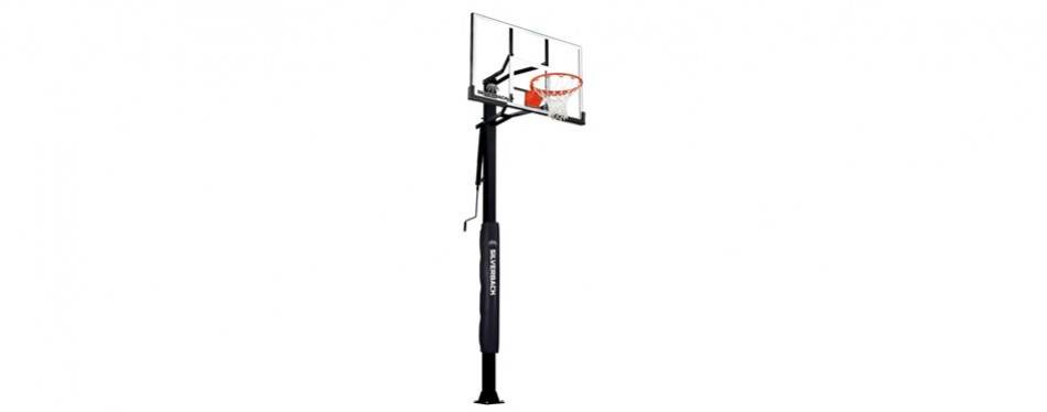 silverback 60 in-ground basketball hoop system