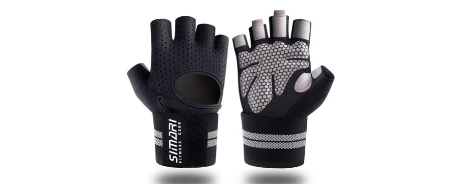 simari workout gloves for women men, training gloves