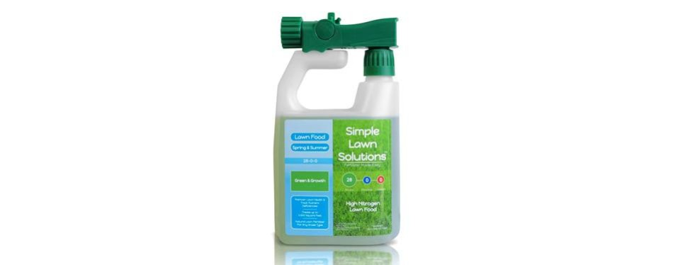 simple lawn solutions green & growth liquid lawn food