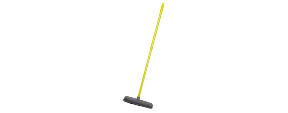 simpli-magic 79121 push broom with squeegee