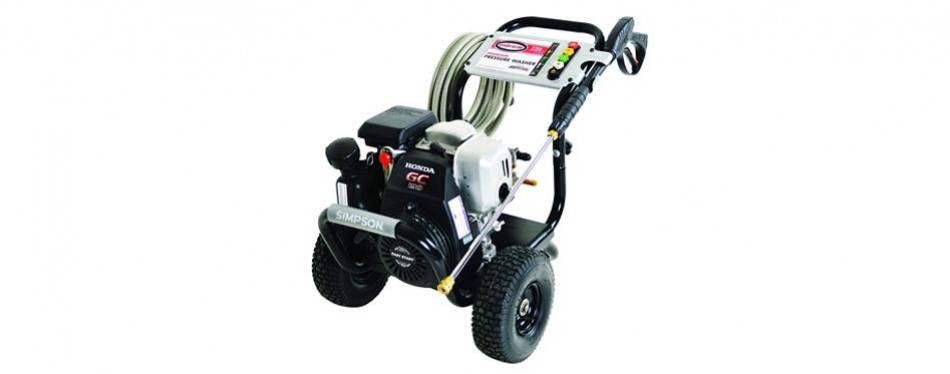 simpson megashot honda engine gas pressure washer