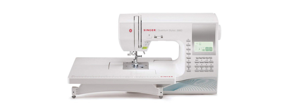 singer | | quantum stylist 9960 computerized portable sewing