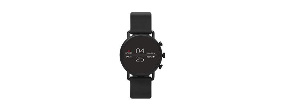 skagen connected falster 2 stainless steel touchscreen smartwatch