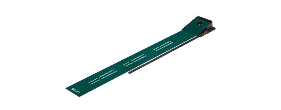 sklz accelerator pro indoor putting mat green