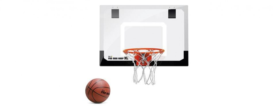 sklz pro mini basketball hoop w/ ball