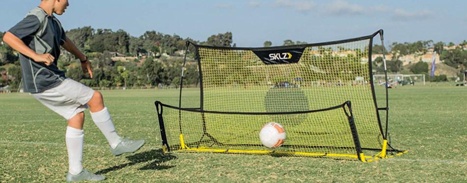 sklz quickster soccer trainer rebound net