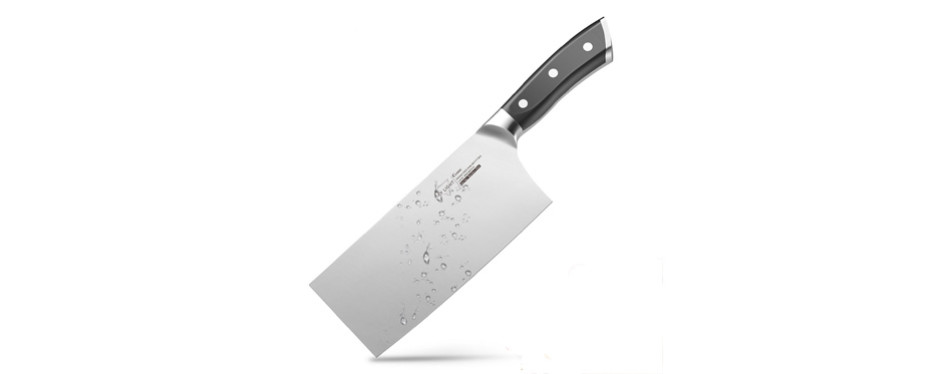 "sky light 7"" german carbon steel cleaver"