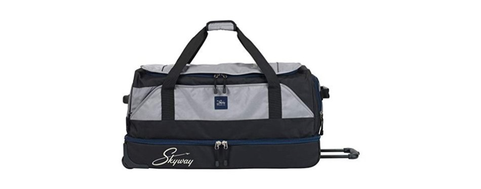 skyway sodo 30-inch drop-bottom rolling duffel bag