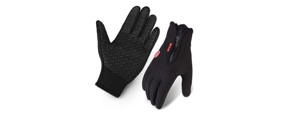 slb waterproof winter cycling gloves