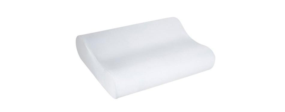 sleep innovations comfort contour memory foam pillow