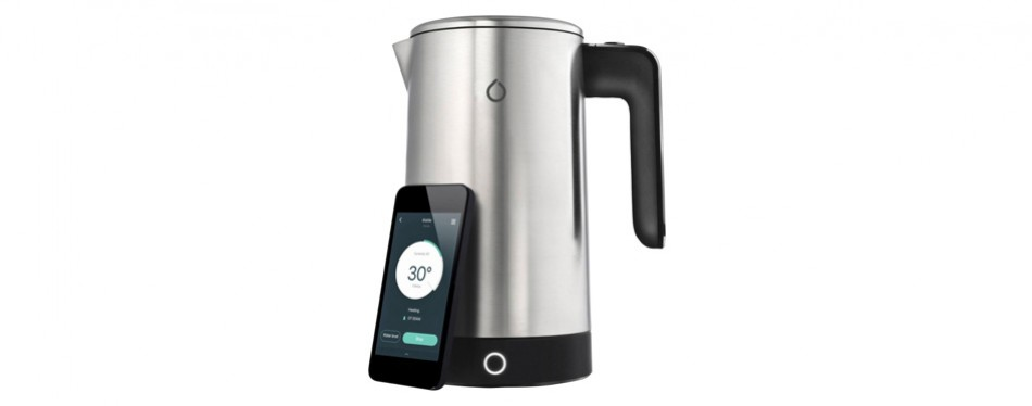 smarter - ikettle wi-fi enabled 1.8l electric smart kettle