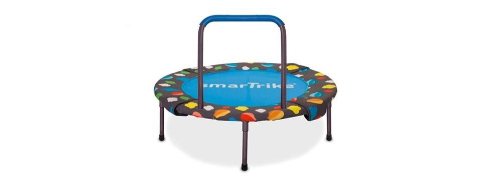 smartrike activity center foldable 3-in-1 trampoline