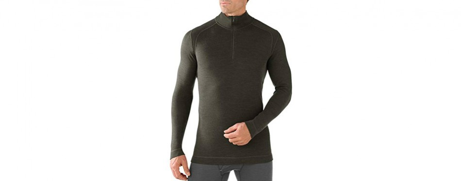 smartwool men's ntd 250 zip base layer top