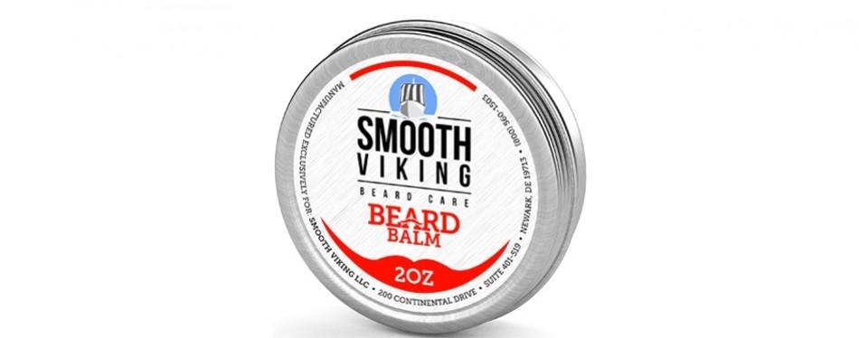 smooth viking beard balm