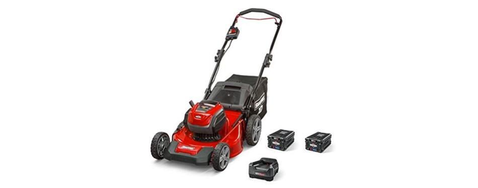 snapper xd cordless lawn mower
