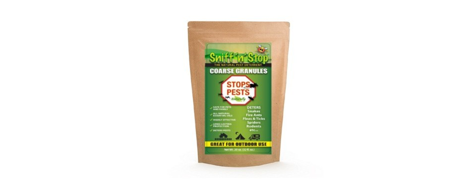 sniff and stop control pellets