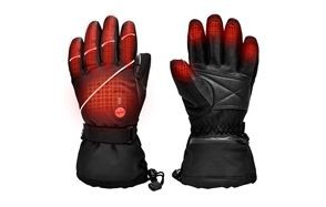 snow deer heated electric motorcycle gloves