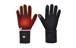 snow deer heated glove liners