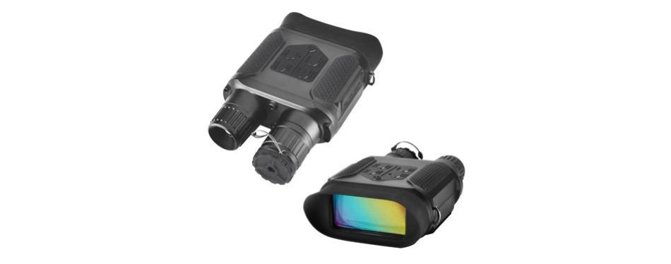 solomark night vision hunting binoculars with large viewing screen