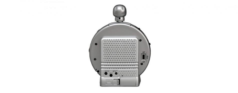 sonic alert vibrating skull crusher clock