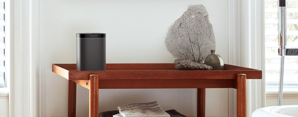 sonos play:1 compact wireless smart speaker for streaming music (black)