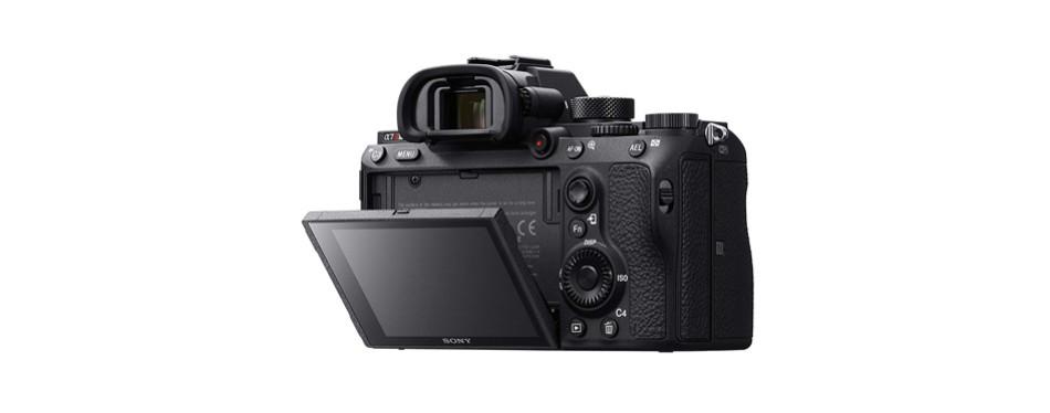 sony a7r iii mirrorless camera