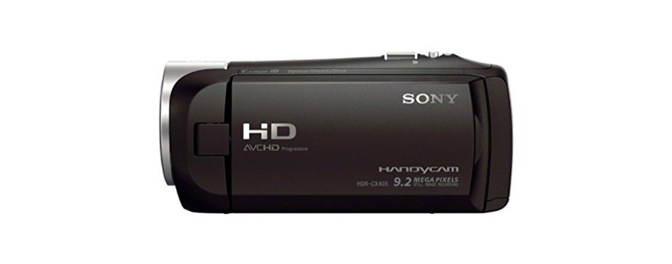 sony hdr-cx405 full hd camcorder bundle
